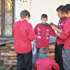 A Scout's duty is to be useful and to help others.