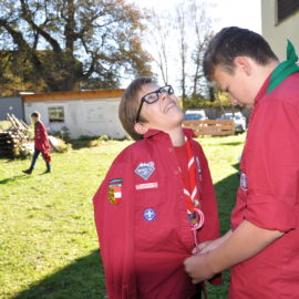 A Scout is a friend to all, and a brother to every other Scout, no matter to what social class the other belongs.